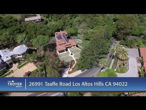 26991 Taaffe Road Los Altos Hills, CA 94022