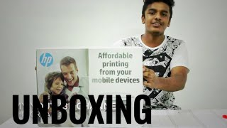 HP DESKJET 2620 | ALL-IN-ONE PRINTER | WIRELESS | UNBOXING
