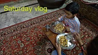 My Saturday breakfast and lunch routine.FRIED IDLI RECIPE  Indian mom weekend vlog.