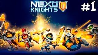 Лего Нексо Найтс #1.Лего игра прохождение с эпизодами про лего мультики.LEGO Nexo Knights games.