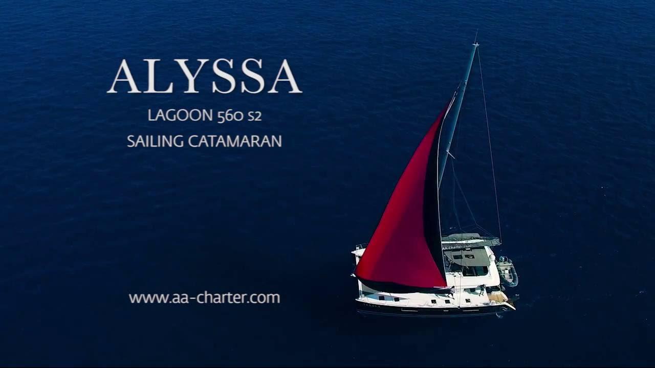 ALYSSA Sailing Catamaran
