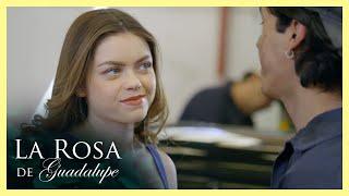 La Rosa de Guadalupe: Daniela utiliza sus encantos para obtener lo que quiere   Un mundo de mentiras