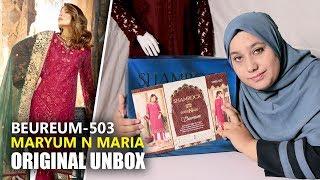9eb4244a3f Maryum N Maria Shamrock 2019 - Unbox Beureum MMS-503 - Maria B Sara Clothes
