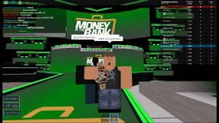 Dean Ambrose spielt! Roblox WWE 2!