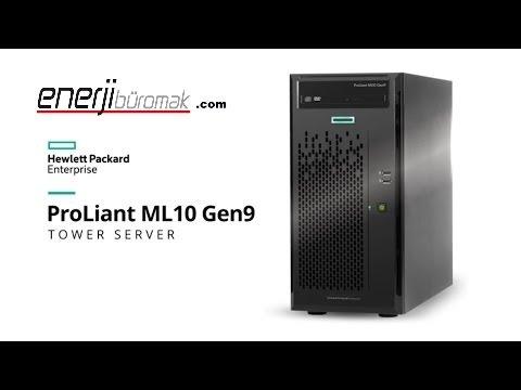 HPE Proliant ML10 Gen9 Unboxing / HP SERVER / Hp Gen9