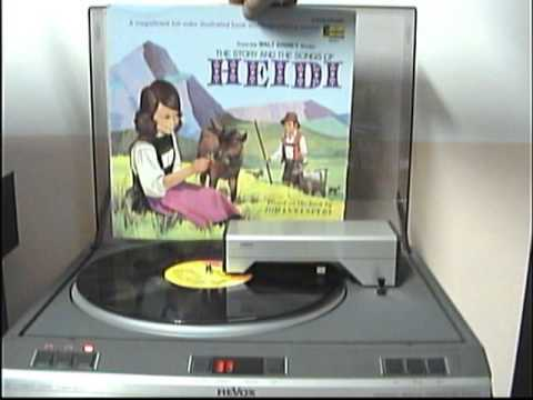 1 THE STORY AND THE SONGS OF HEIDI DISNEYLAND RECORD 1968