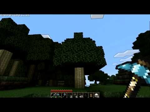 Minecraft GLSL Shaders - Cel-Shading And Wavy Trees
