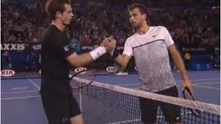 Grigor Dimitrov vs. Andy Murray 4-6, 7-6(5), 3-6, 5-7 Australian Open (R16) 25.01.2015.