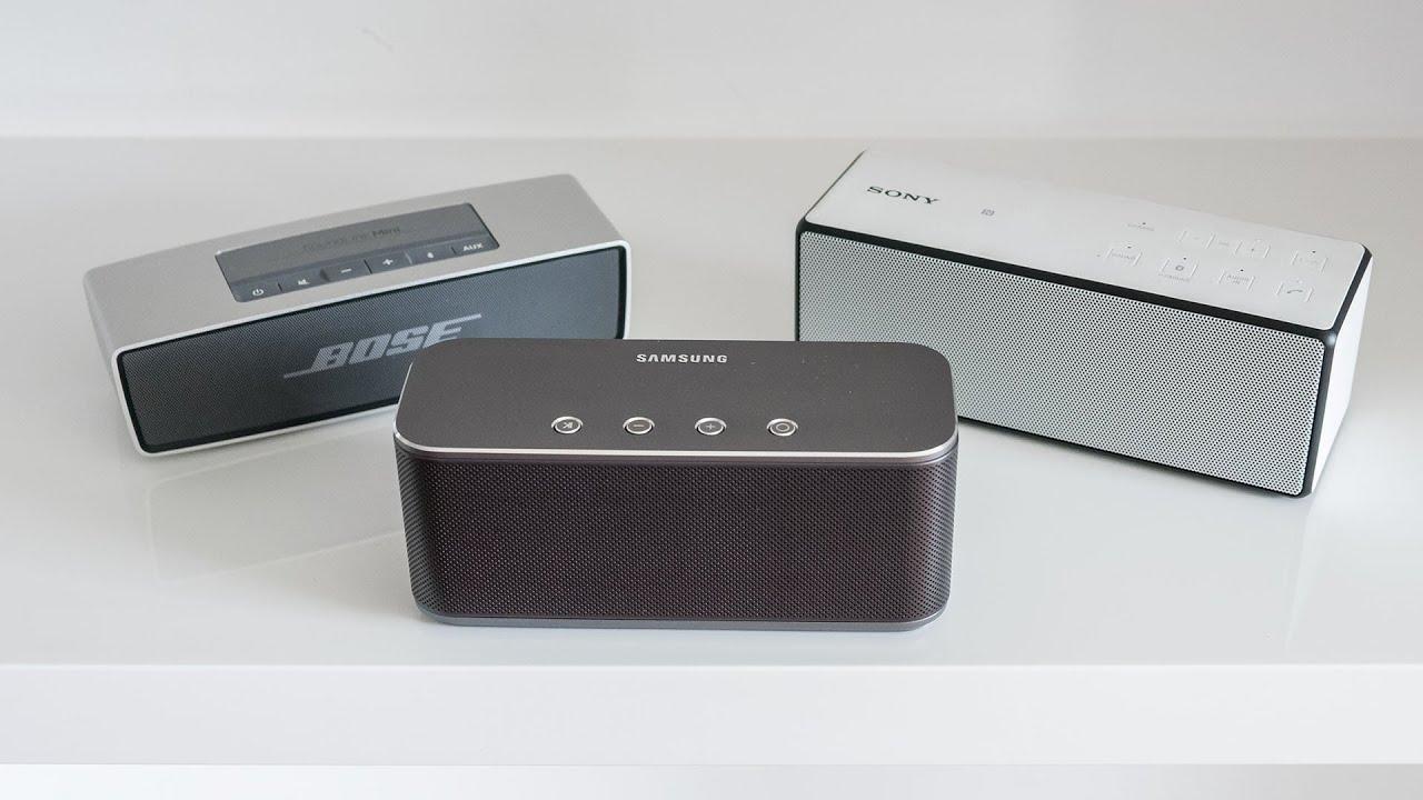Audiotest: Sony SRS-X2 vs. JBL Flip - YouTube