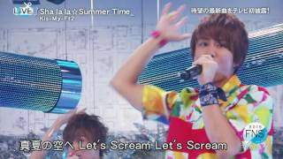 20160718 FNS2016 KMF2 Shalala☆Summertime