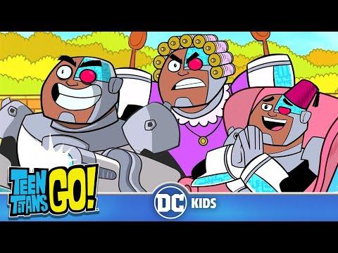 Teen Titans Go em Português  Super Poderes: Cyborg   DC Kids