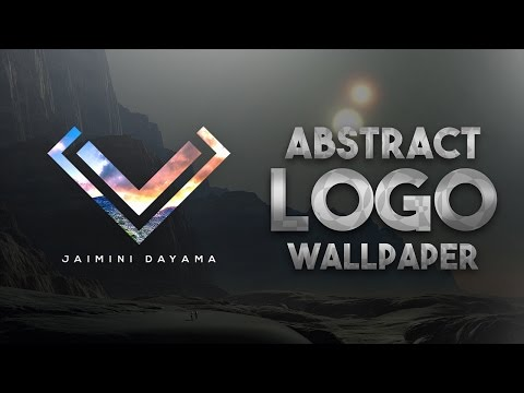 Create a Custom Logo Wallpaper (Speed Art)