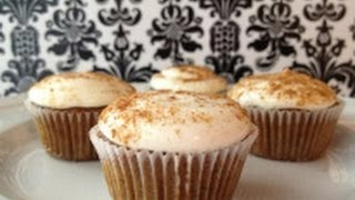 How To Make Chai Cupcakes - Spiced Cake Recipe With Cream Cheese Frosting