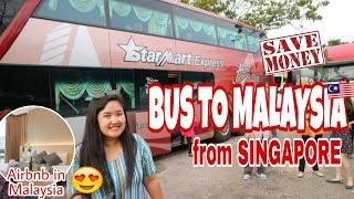 Gambar cover CHEAP BUS FROM SINGAPORE TO MALAYSIA | Best AIRBNB in Malaysia