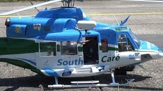 Stunning Bell 412 Snowy Hydro SouthCare RC Scale Helicopter