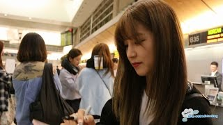 [FANCAM/직캠] 150503 APINK  에이핑크 - Departure from L.A. (LAX) to Seoul (ICN)