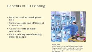 3D Printing Course Series. Introduction to 3D Printing. Ep 1