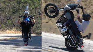 Mulholland Riders - Knee Dragging Harley, Wheelies & Groms