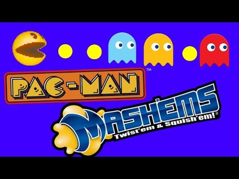 PAC MAN MASHEMS TOY OPENING FIRST TIME AND GIVEAWAY