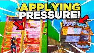 When YOU Should Apply PRESSURE Towards Your OPPONENTS In Fortnite! (Tips & Tricks)