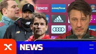 Niko Kovac über Manuel Neuer, FC Augsburg, Jürgen Klopp und Jens Lehmann | FC Bayern München | SPOX