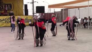 LOS ABUELITOS DE HUAROQUIN EN LA FIESTA DEL PATRON SAN CRISTOBAL CAMPOY  2015