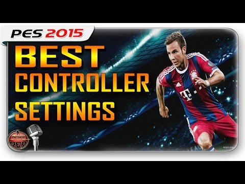 PES 2015 | Best Controller Settings ( Personal Data) PS4