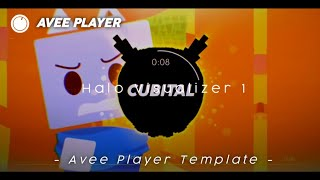Halo Visualizer 1 || Avee Player Template || By Trap Project Indo HD