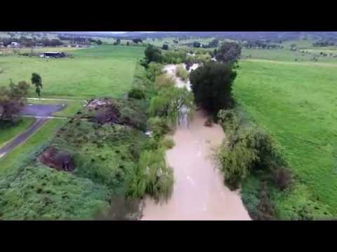 Manilla River At Barraba NSW 14th Sept.16