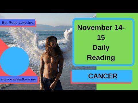 """CANCER SOULMATE """"AWAKENING OF THE PARTNER"""" NOVEMBER 14-15 DAILY TAROT READING"""
