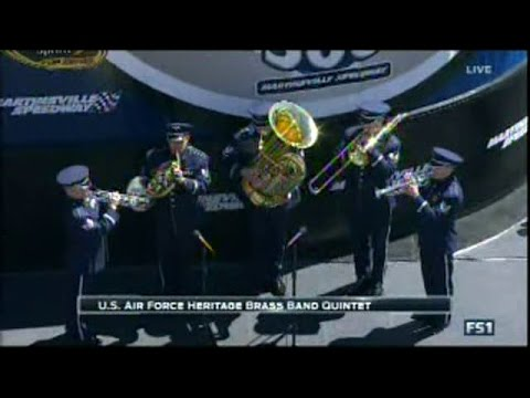 The Star Spangled Banner US Air Force Heritage Brass Band Quintet 04-03-16