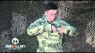 видео Купить Костюм маскировочный ( маскхалат ) VT камуфлированный цифра зеленая (1116006)