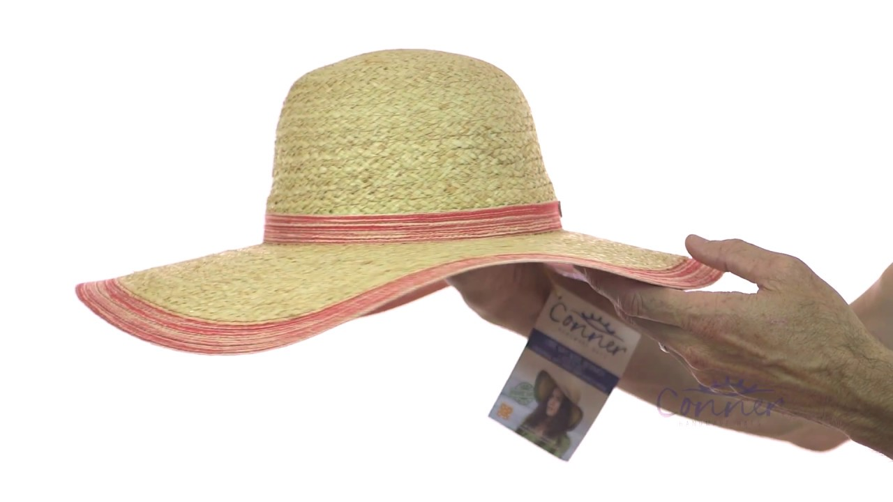 d57afd9c8eb04 Lake May Wide Brimmed Ladies Hat SKU  F5059. Conner Hats