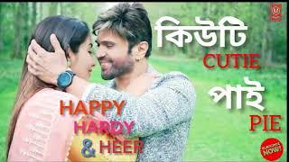 New Hindi Cutie Pie Song By Himesh Reshammiya || Happy Hardy & Heer 2019 Movies Song