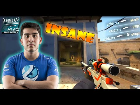 LG ColdZera' 4K AWP vs Liquid - Jumping No Scope Collateral | MLG Colombus 2016 |