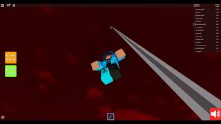 Roblox - Rocket simulator - Getting to the top of octagon tower