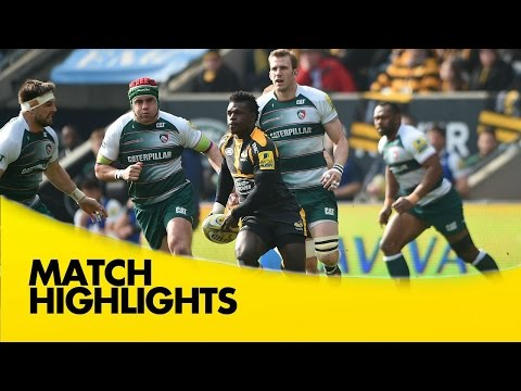 Wasps V Leicester Tigers  - Aviva Premiership 2015/16