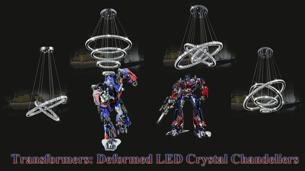Led Crystal Chandeliers Transformers Is A Chandelier K9 Smd Light You