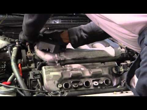 How to Change valve cover gaskets Honda accord v6 - part 1