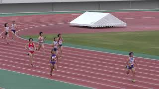 2018.6.16 第73回 東北高校陸上 女子4×400mR 準決勝3組 順位 レーン 記録 チ...