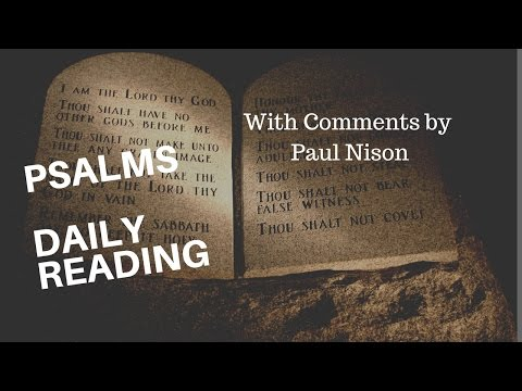 Psalm 88 Daily Bible Verse with Paul Nison