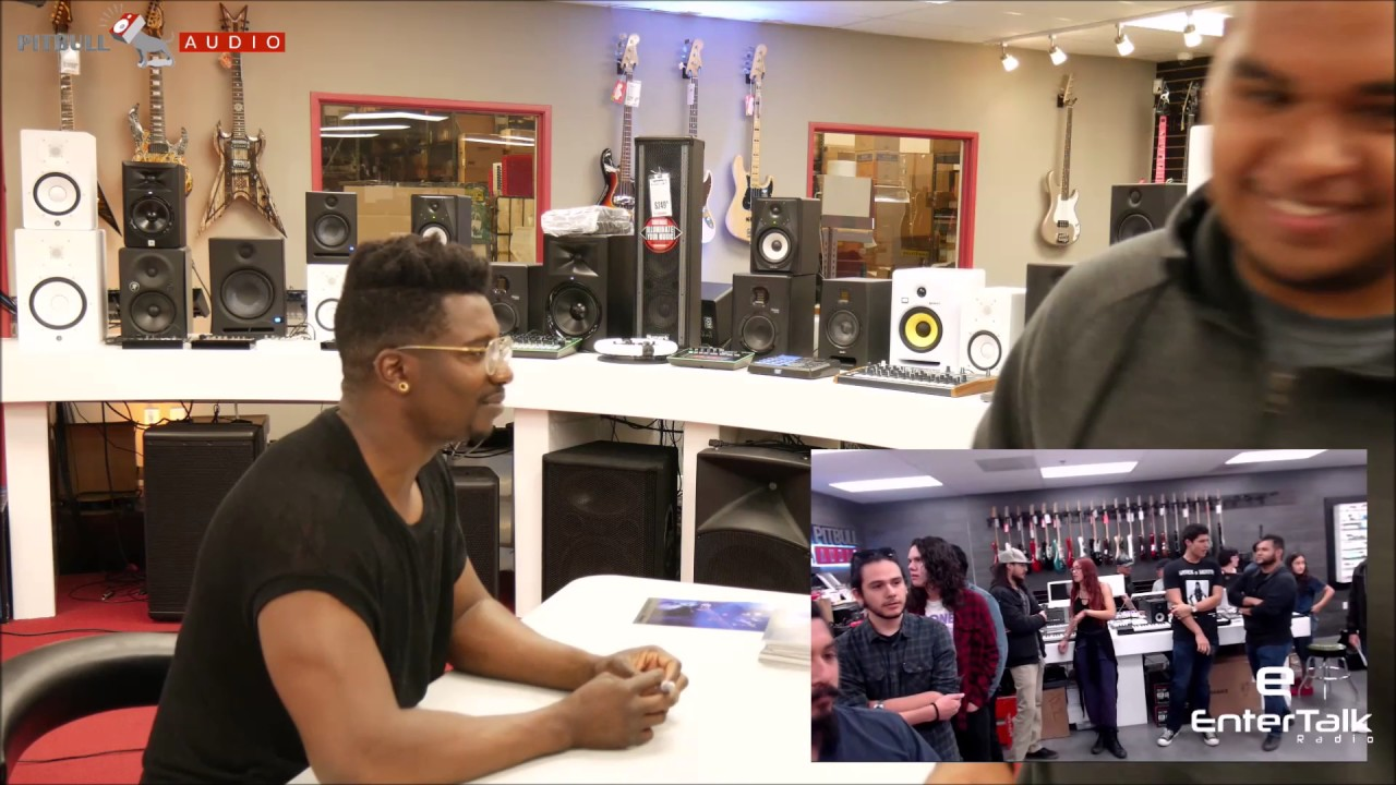 Animals As Leaders Tosin Abasi Meet And Greet At The Pitbull Audio