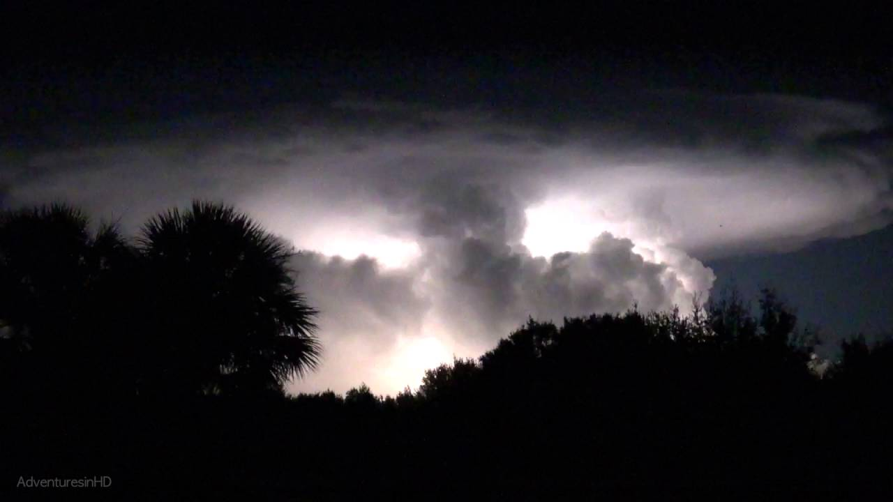 Amazing Heat Lightning Storm - High Quality Slow Motion ...