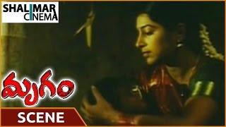 Mrugam Movie    Aadhi Pinisetty Slapping His Wife Scene   Aadhi Pinisetty    Shalimarcinema