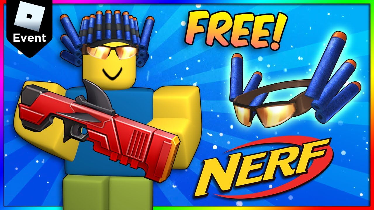 [EVENT] How to get FREE Nerf VALK & Dart Hat in Roblox Nerf Event 2021, Easy Version, Mobile & iPad
