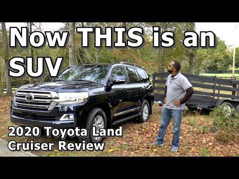 2020 Toyota Land Cruiser Review - THIS is an SUV