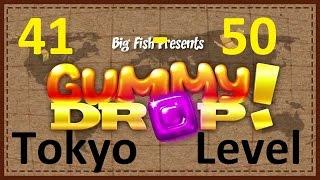 ��������! Gummy Drop! - Tokyo - ����� Levels 41 - 50  (41 - 50 �������) ( Bur - ��� ) �����������
