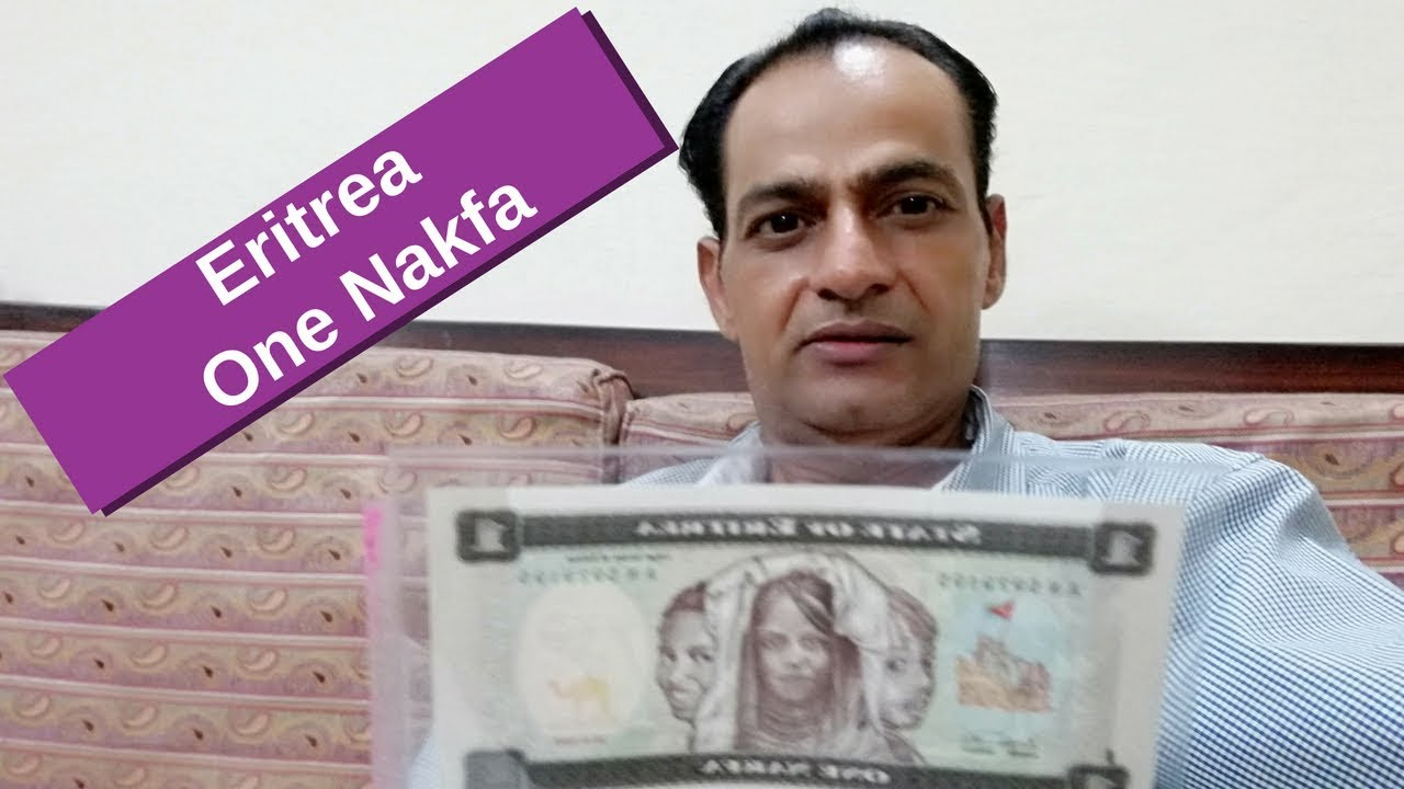 1 Nakfa State Of Eritrea Currency Note Banknote Paper Money ኤርትራ ሓደ Nacfa