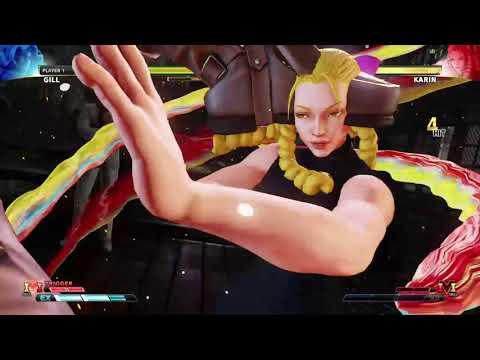 STREET FIGHTER V Gill vs Karin |