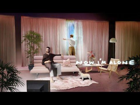 HONNE - NOW I'M ALONE (Feat. Sofía Valdés) (Official Lyric Video)